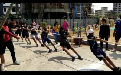 Achievement of Junior college – Tug of War Event